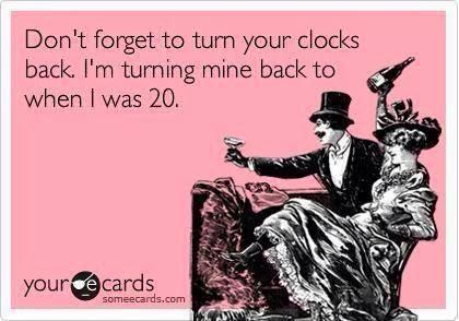 Turn back the clock joke