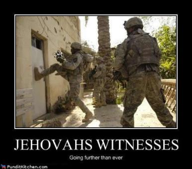 Image result for annoying jehovah's witnesses
